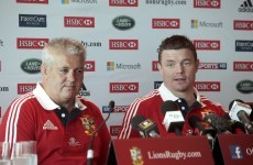 Lions may get better Test warm-ups in training admits Gatland