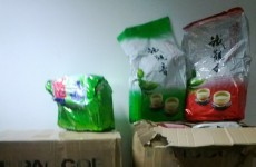 PICS: Revenue seizes €100,000 of tobacco purporting to be Chinese tea