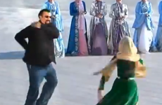 WATCH:  Steven Seagal performs Chechen dance...