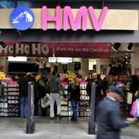 Shares in HMV dive after profit warning
