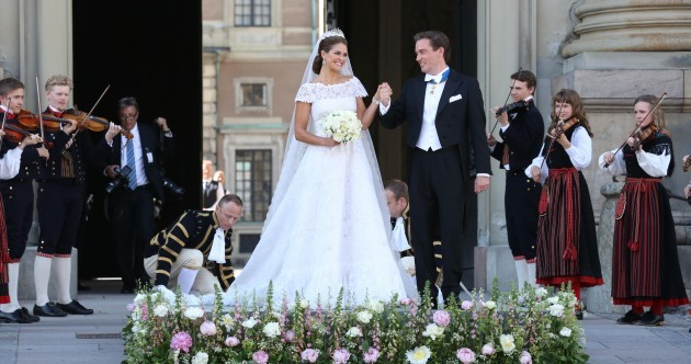 Pictures of Sweden's royal wedding: The princess and the New York banker