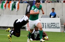 The joy of six for Ireland as they brush past Fiji at U20 World Championships