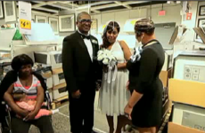 Couple gets married in IKEA (where most couples break up)