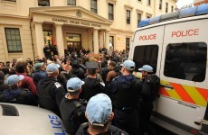 57 people arrested in London as police clash with G8 protesters