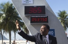 1 year out, World Cup's countdown clock unveiled in Rio