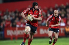 Stringer and Leamy back in for Munster