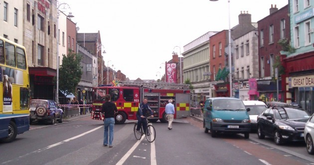 Pics: Camden Street reopened after earlier fire disruption