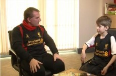 Rodgers grilled by 9-year-old, admits Suarez is 'most naughtiest' player