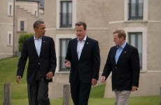 Videos: Enda takes a walk with Cameron and Obama... and then Lagarde