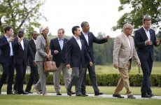 G8 leaders agree to 'fight the scourge of tax evasion', Ireland's regime not discussed