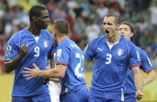 All 7 goals from the brilliant game between Italy and Japan