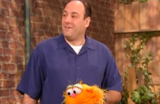 James Gandolfini talks about feeling scared on Sesame Street