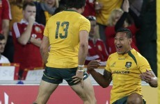 Lions rematch can't come fast enough for Wallaby scoring star Israel Folau
