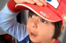 Ice pop stealing child is a gold medal spoofer