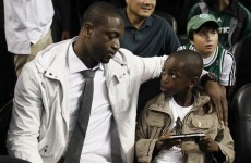 Dwyane Wade's 10-year-old kid is destined for the NBA with these skills