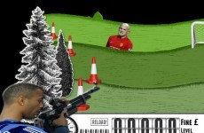 Easy target: take aim with Chelsea star in 'Cole of Duty' game