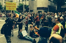 Video: Protesters stop Labour float during Dublin Pride parade