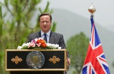 Car bomb kills 15 as British PM visits Pakistan