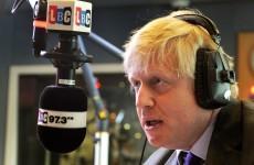 'Go London' — Boris Johnson sends congratulations to London but won't make Castlebar trip