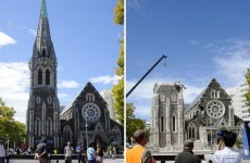 No bodies found in Christchurch cathedral wreckage, rescuers say