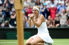 Lisicki ends Serena's reign as Wimbledon champion