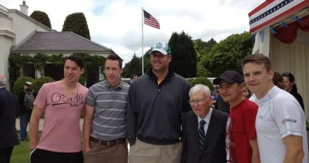 The Steelers' Ben Roethlisberger and Dan Rooney are in Ireland for July 4