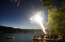 Fireworks in the US have shrunk over decades