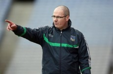 Maurice Horan resigns as Limerick football manager