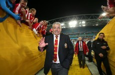 Four more years? Gatland won't rule out another Lions tour