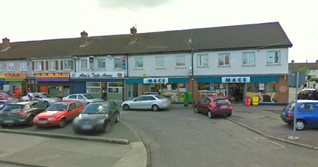 This is the north Dublin shop where the €94m lotto ticket was sold…