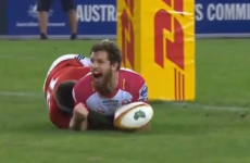 What was your favourite try from this year's Lions tour?