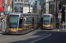 Service resumed on Luas Red Line