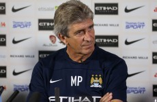 Manuel Pellegrini eyeing trophies with Manchester City