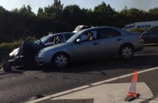 Three arrested after high speed chase on M1