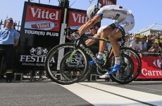 Sprint finish: Kittel pips Cavendish in dramatic photo finish