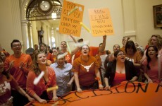 Texas passes strict anti-abortion law despite protests