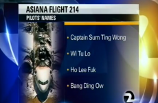 US TV station caught out by racist joke about plane crash pilots' names