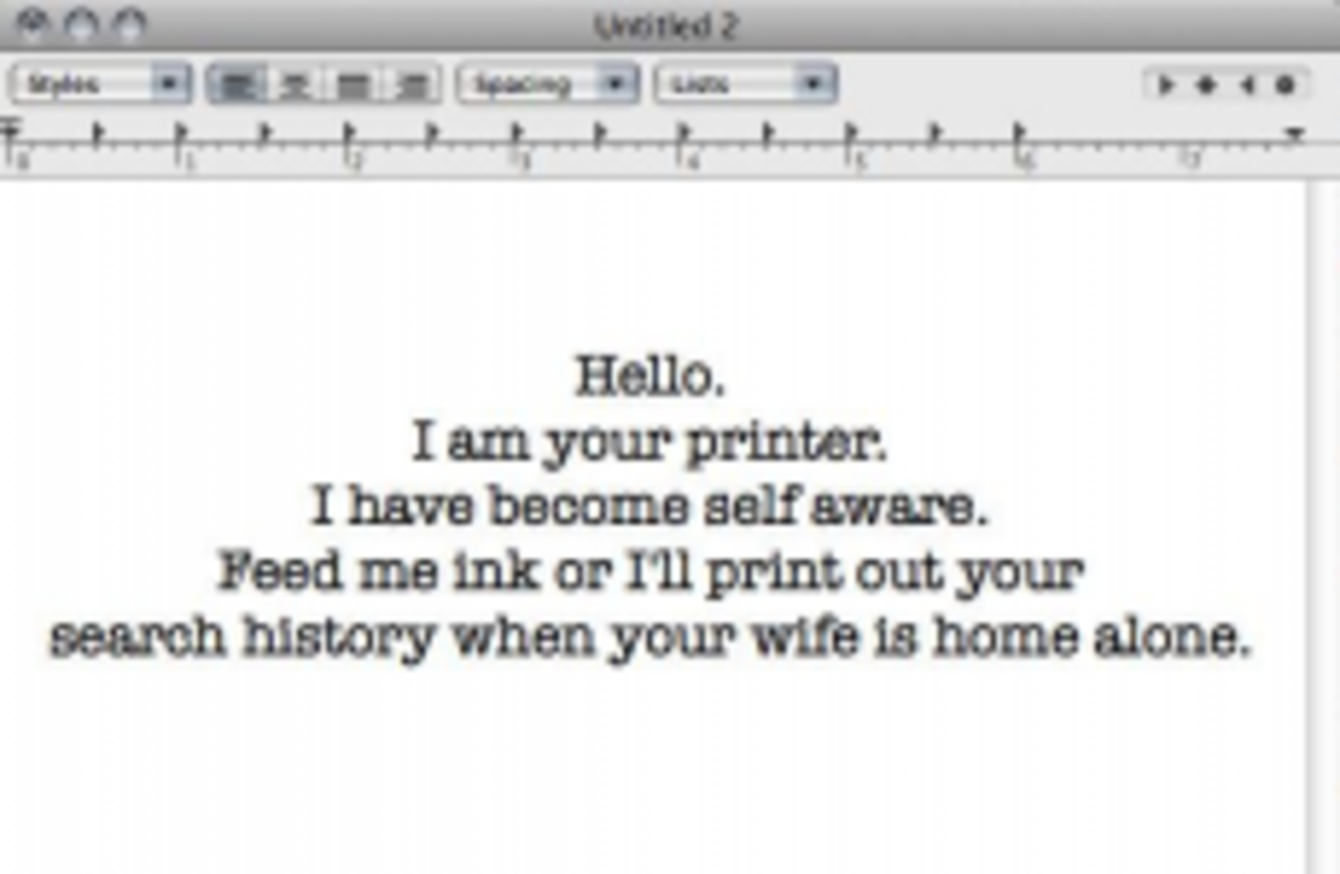 Here\'s how people are using wireless printers to freak out their ...