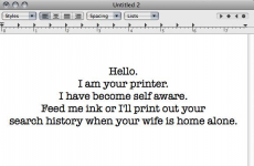 Here's how people are using wireless printers to freak out their neighbours