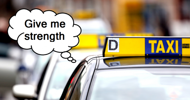 The 12 most annoying things people say to taxi drivers
