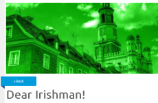 This city is selling itself as 'the most Irish-friendly in Europe'