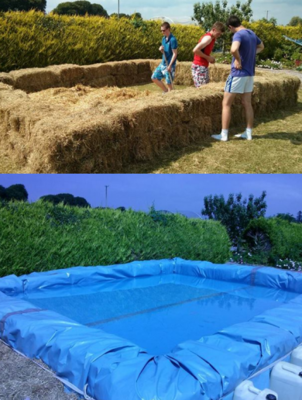 How to build your own swimming pool and water park - How to make a swimming pool in your backyard ...