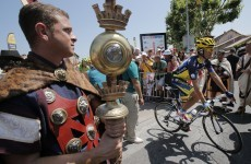 Sprint finish: Froome swerves late crash as Rui Costa solos to victory