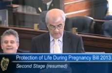 Senator Jim Walsh criticised for abortion description