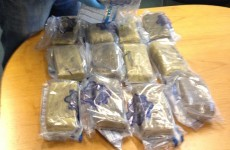 Half-a-million euro of cocaine has been seized from a house in Dublin