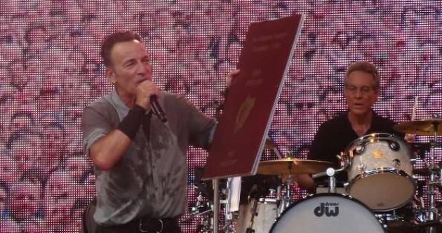 The Dredge: Bruce Springsteen has an Irish passport, Martin Sheen has an Irish great-grandchild