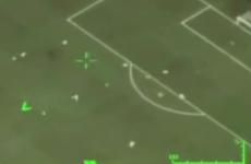 Brazilian air force drone films Neymar's goal v Japan