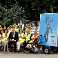 'Bin it your way' campaign stepping up efforts around country