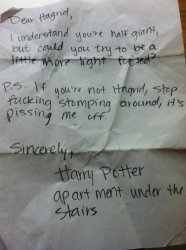 The Dos And Don Ts Of Writing Nasty Notes To Neighbours