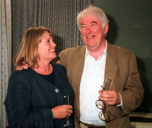 Seamus Heaney wife